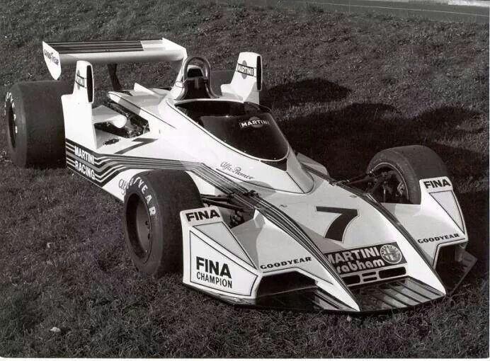 Brabham BT45 Alfa Romeo 1976  Presentation Livery