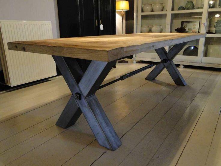 Oud eiken tafel Vitrolles  uniek maatwerk  Algemeer 13