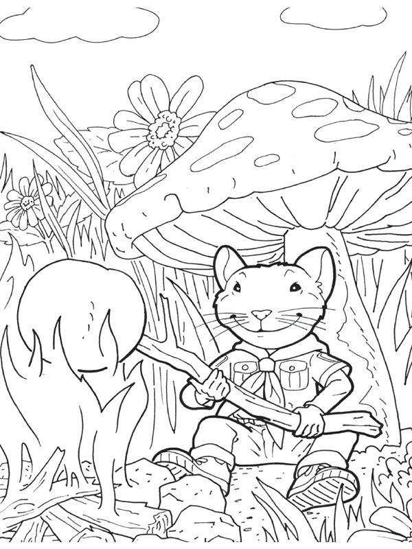 Stuart Little - 999 Coloring Pages