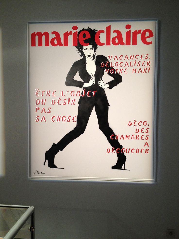 Expo Les Uns et les Unes - miss tic @ galerie w