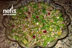 Pancar Suyu İle Kara Buğday Salatası