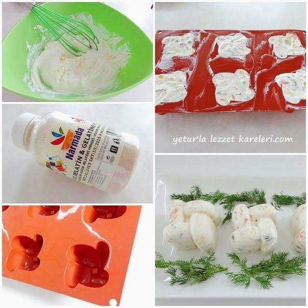 yetur'la lezzet kareleri: yoğurt jöleli salata