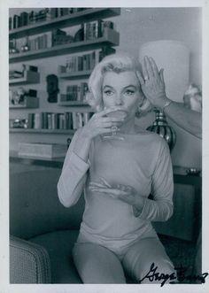 *Marilyn Monroe, From the Last Photoshoot*, gelatin silver print, 1962.