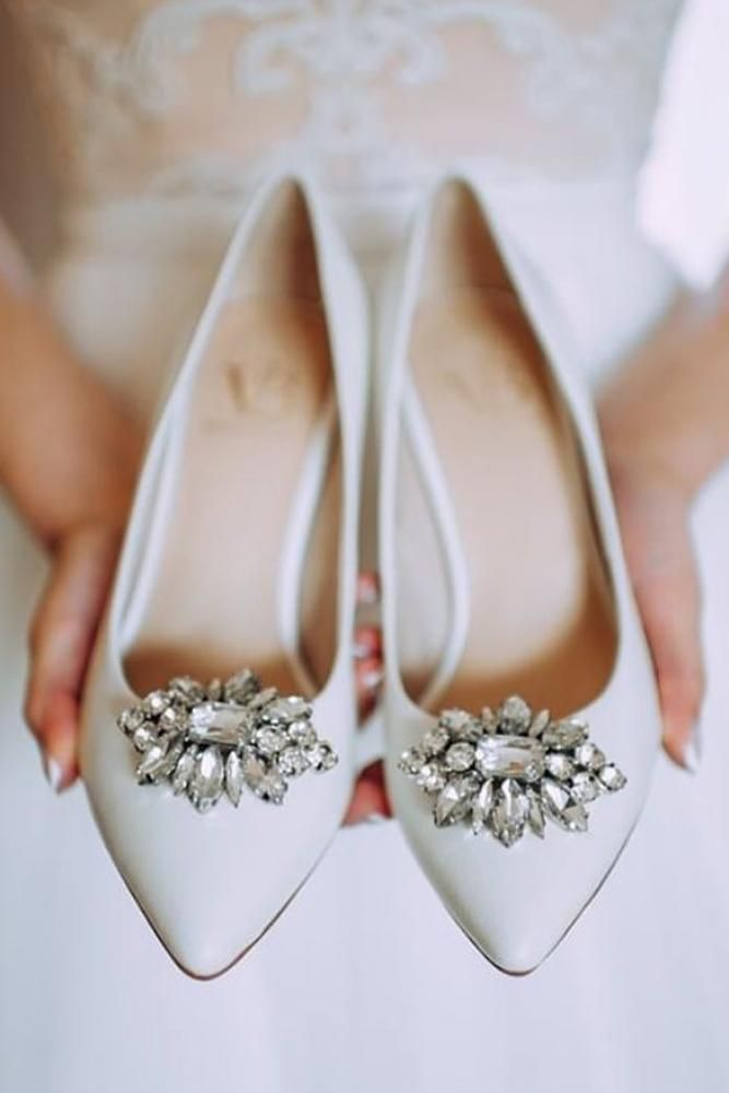 30 Wedding Flats For Comfortable Wedding Party Sparkly Wedding