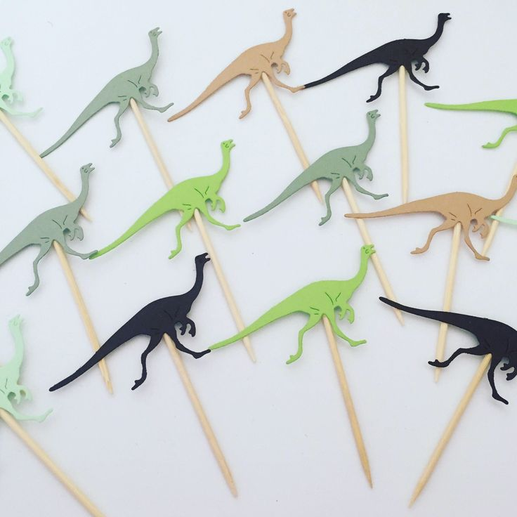 A personal favourite from my Etsy shop https://www.etsy.com/uk/listing/539547009/dinosaur-cupcake-toppers-dinosaur-cake