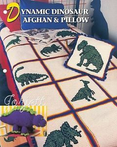 Dinosaur Crochet Afghan Pattern Free Patterns Dinosaurs Afghan