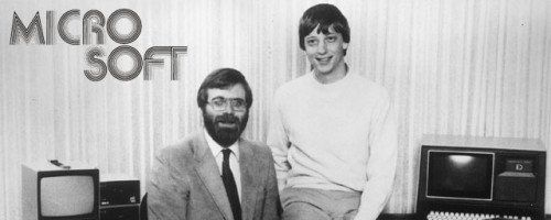 April 4,1975 – Microsoft is founded as a partnership between Bill Gates and Paul Allen in Albuquerque, New Mexico