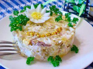 Салат из рыбы к праздничному столу