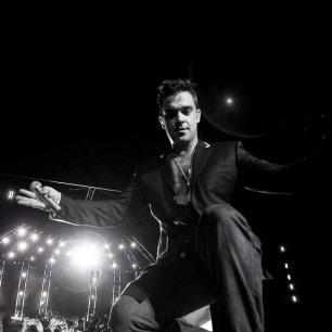 Robbie Williams Close Encounters Tour @ AAMI Stadium. F'n brilliant concert.