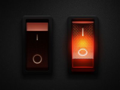 Lighted Rocker Switch V2 by Keith Sereby