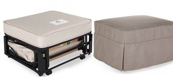Single Convertible Ottoman | Sofa Bed Specialists (Size 83x73x52)