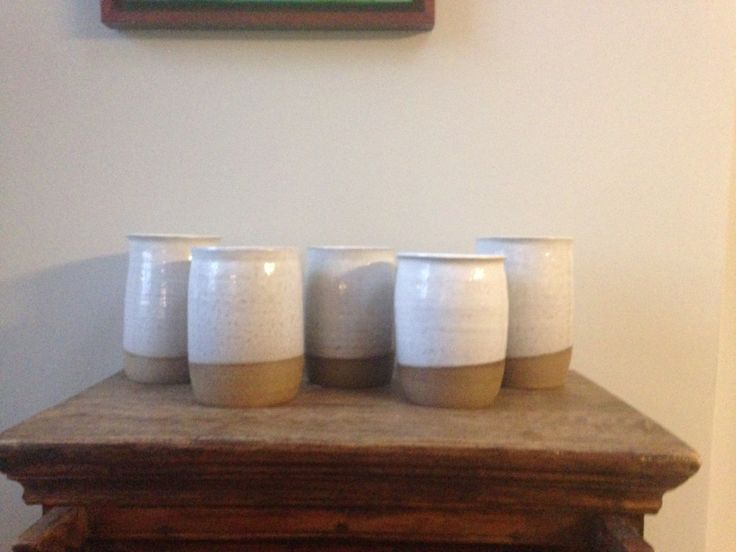 Hand crafted soup jars