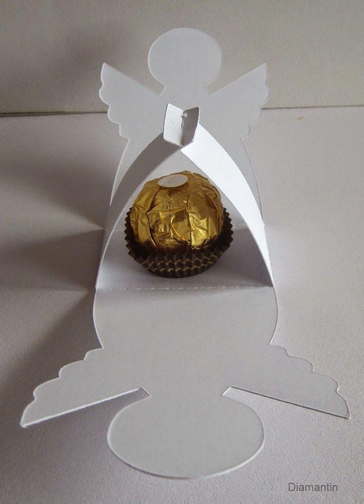 Diamantin´s Hobbywelt: Projekt mit Ferrero - Rocher-Engel
