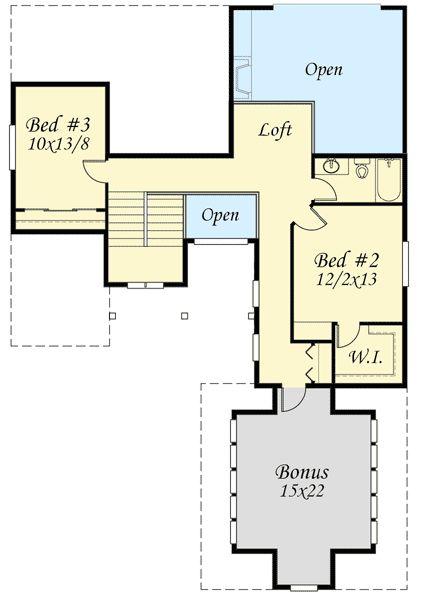Plan 85055MS: Upscale European Home Plan