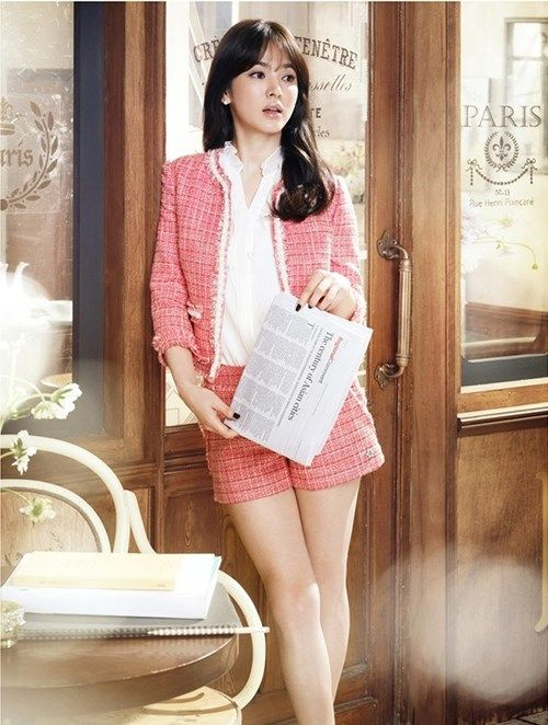 Song hye kyo commercial