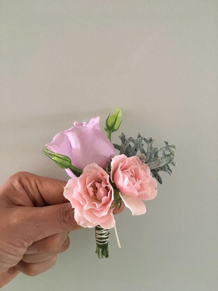 CBB245 Wedding Riviera Maya pink an lilac / Lila y Rosa boutonnière