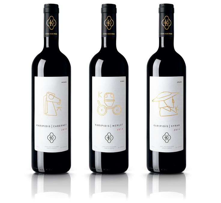 Karipidis Wines Packaging     Luminous Design Group