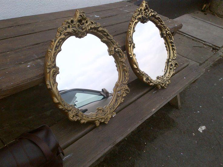 Tuesday Treasures - mirror pair