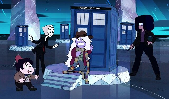 Steven Universe crosses with Doctor Who