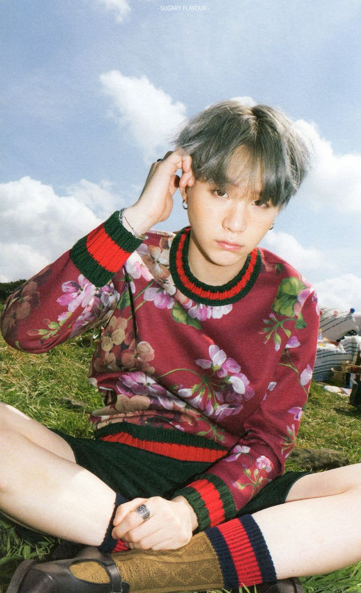 Suga 'Young Forever' scan © SUGARY FLAVOUR   Do not edit.