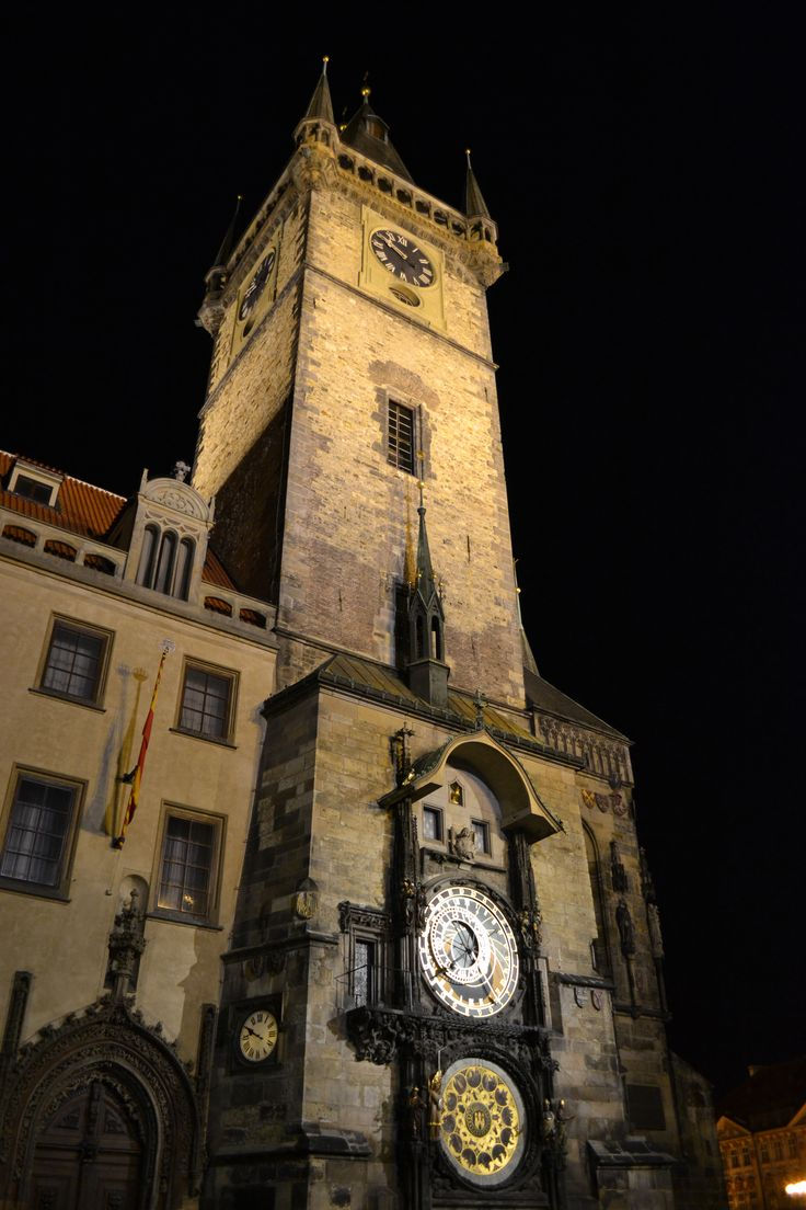 Astronomical Clock - one of Europe's best-known tourist attractions. Four figures beside the clock represent the deepest civic anxieties of the people of Prague during the15th-century: Vanity (with a mirror), Greed (with his money bag); Death (the skeleton) and Pagan Invasion (represented by a Turk).  On the hour, Death rings a bell  and the 12 Apostles parade past the windows above the clock, nodding to the crowd.