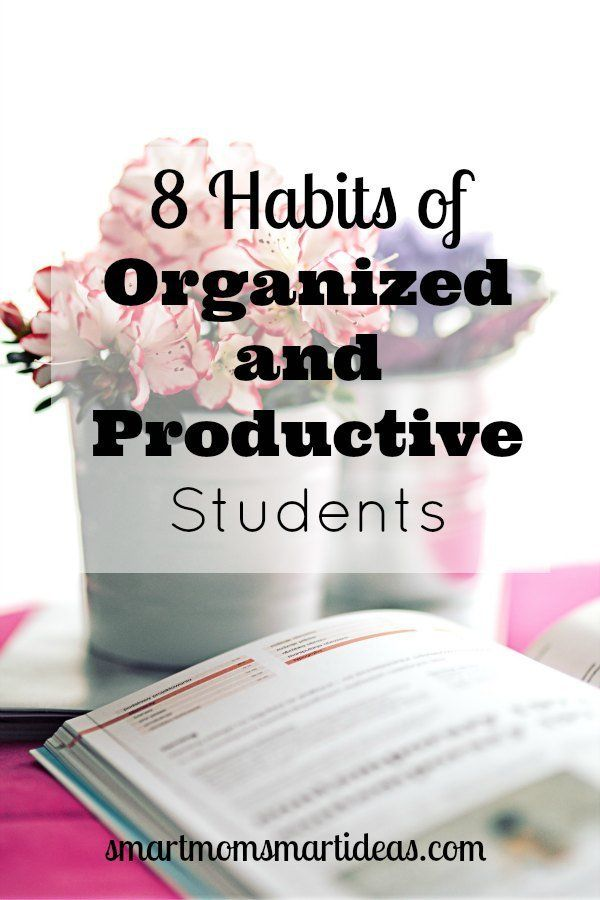 Is your child an organized student? Lack of organization makes success in school difficult. Help your child learn to be more productive and organized with these 8 habits.