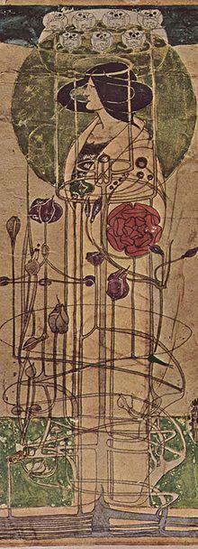 Art Nouveau er en internasjonal kunstbevegelse og stil innen kunsten, arkitekturen og anvendt kunst - spesielt dekorativ kunst - som var mest populær ved slutten av 1800-tallet (1890-1905). Navnet 'Art nouveau' er fransk for «ny kunst».