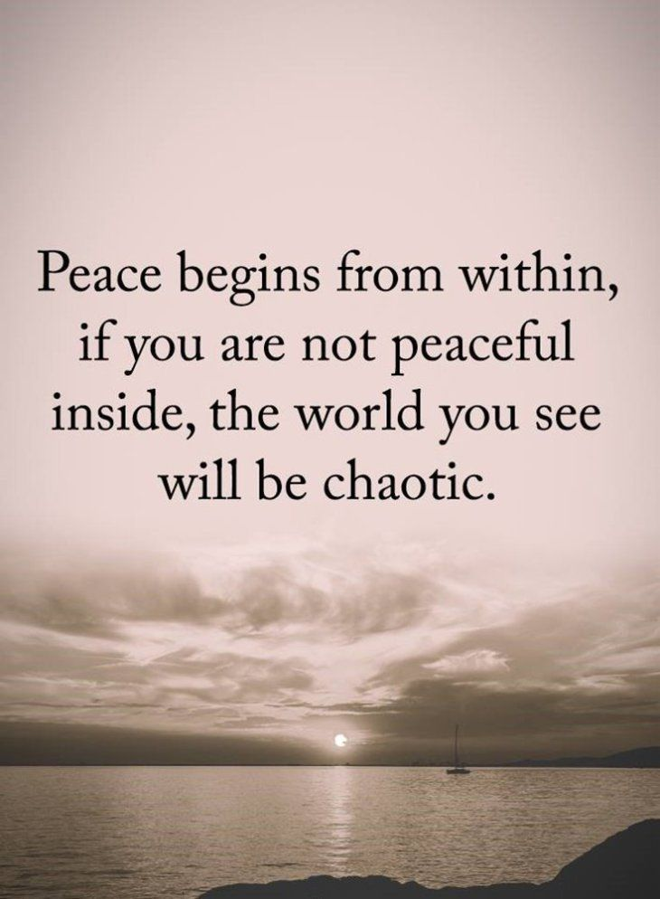 Inspirational Peace And Love Quotes