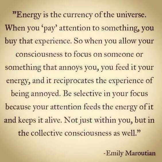 Empaths are vibe yo-yo's. It takes a tremendous amount of focus and energy to stay on even keel.