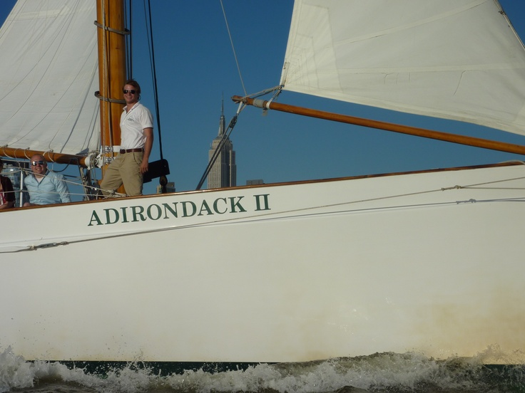 Come sail away with our experienced crew of captains and sailors aboard the Schooner Adirondack!