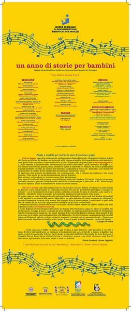 Calendario Nati per Leggere e Nati per Musica in Sardegna 2013: pagina 2