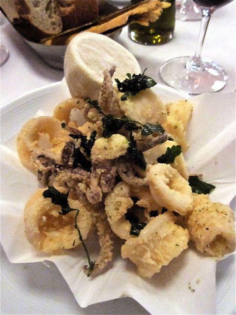 33 best images about squid calamari on pinterest pork for Authentic italian cuisine