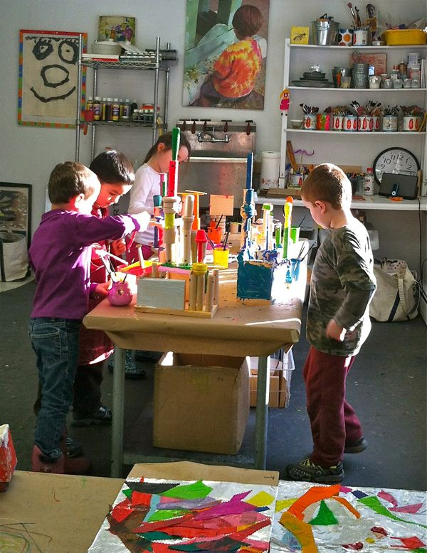 art space studio for children