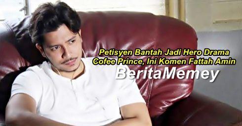 Petisyen Bantah Fattah Amin Jadi Hero Drama Cofee Prince Ini Komen Fattah Amin http://ift.tt/2tFnVaR