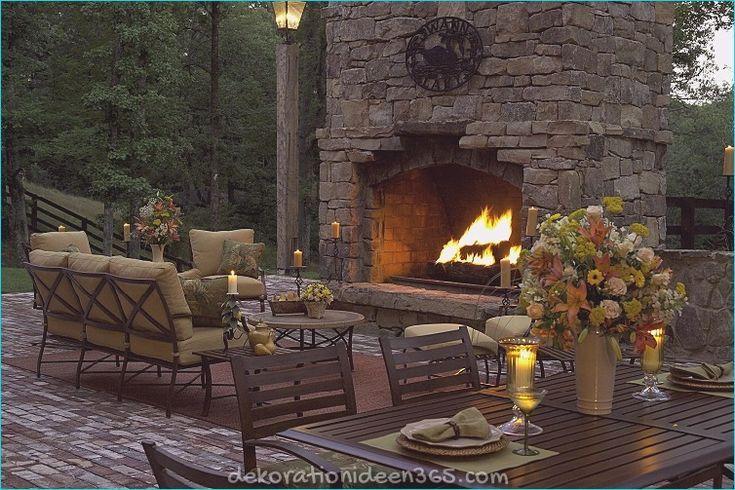 Bilder Von Kaminen Und Feuertischen Fur Den Garten Dekorationideen365 Diy Feuertisch Terassenideen Terrassenbelag