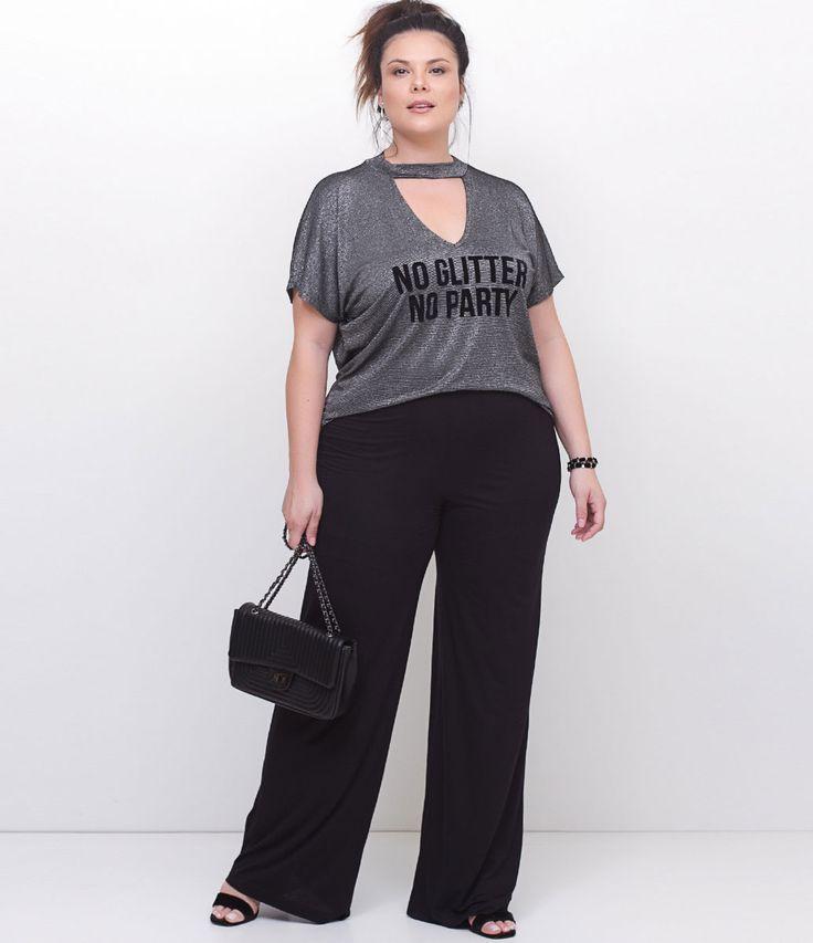 ESTAMOS COM UMA NOVA TABELA DE MEDIDAS, AGORA SOMOS CURVE & PLUS SIZE, CONFIRA ACIMA A TABELA DESTE ITEM. Calça feminina Curve… | look trabalho | Pinterest | Plus size, Plus Size Fashion and Fashion