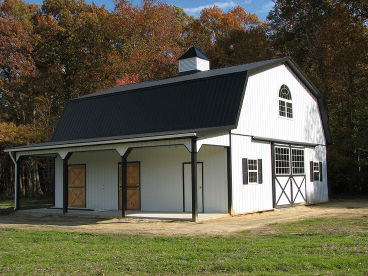 10 best ideas about pole barn house kits on pinterest for Gambrel barn plans with living quarters