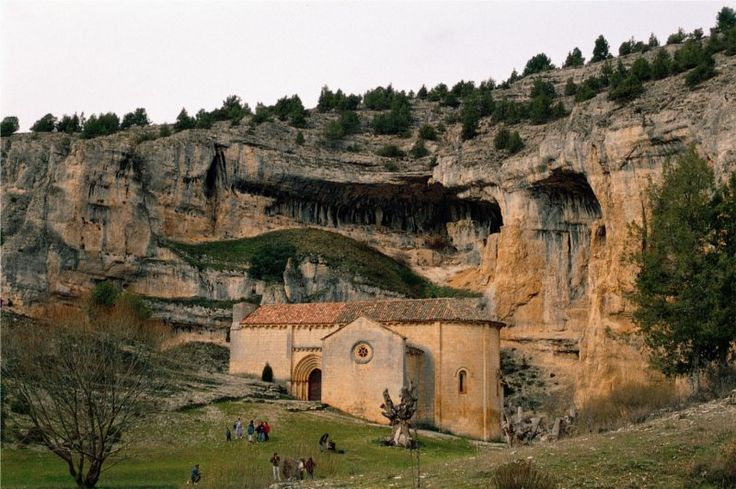 Ermita de San Bartoomé, en el cañón del Río Lobos, Ayuntamiento de San Leonardo de Yagüe,  Soria, Castilla y León