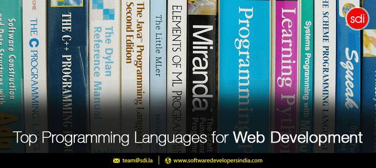 Top Programming Languages for Web Development
