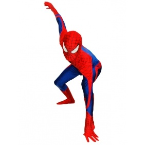Wholesale Amazing Spiderman Costume Spandex Lycra Zentai Suit