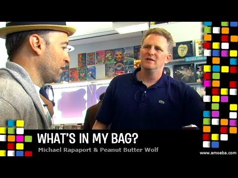 Michael Rapaport and Peanut Butter Wolf - What's In My Bag? (A Tribe Cal...