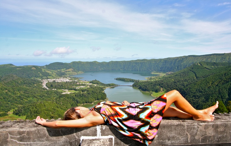 this image reflects what you can live in açores, relax and enjoy the amazing view