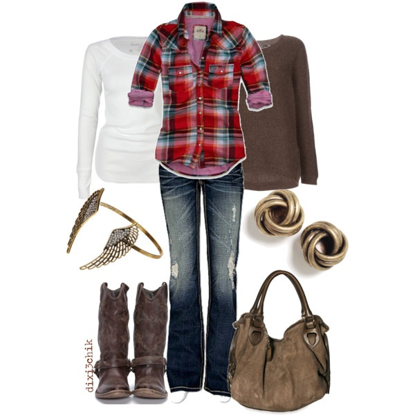 Cute, casual: Flannels Shirts, Style, Country Girls, Comfy Casual, Fall Outfit, Plaid Shirts, Fall Fashion, Fashion Trends, Country Looks
