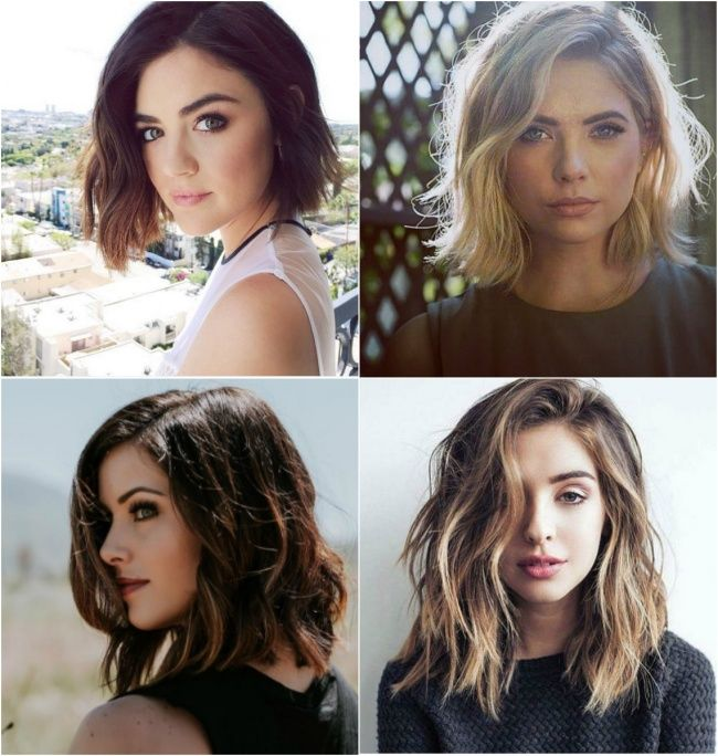 Multi-layered: This haircut combines a casual look with style and a definite femininity.