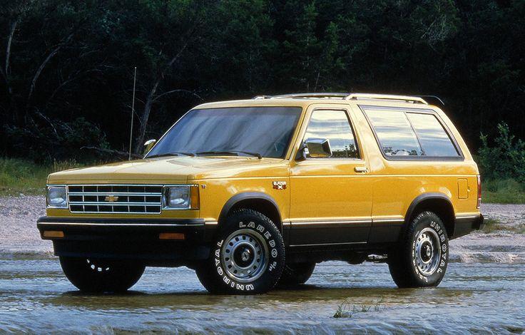 1983 Chevrolet Blazer S 10 4x4 Suv Chevrolet Blazer Chevrolet