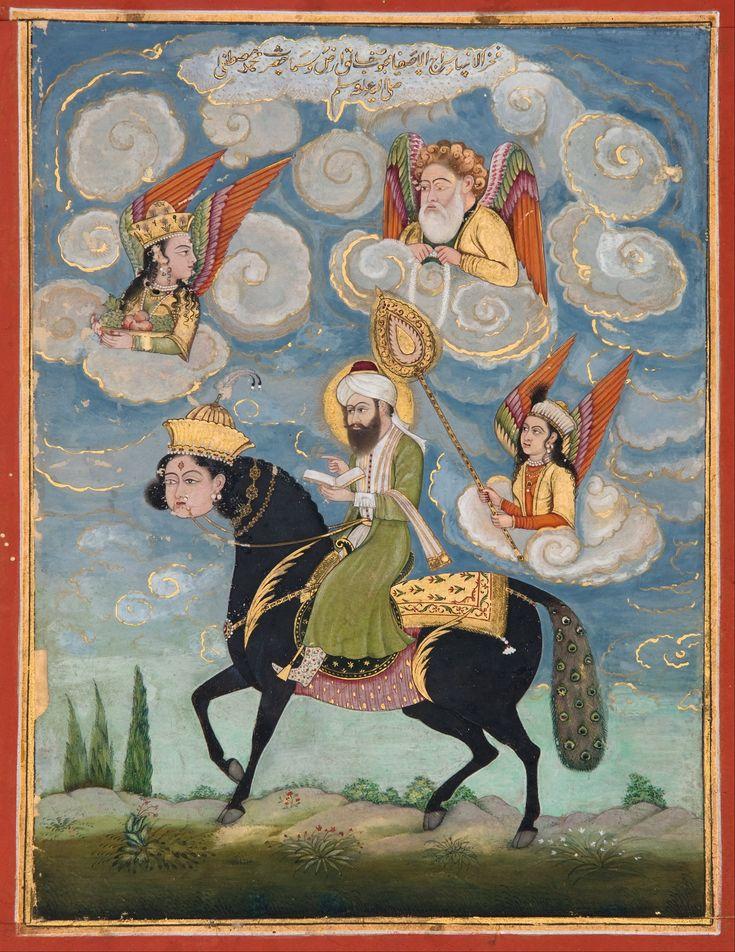 Portrait_of_the_Prophet_Muhammad_riding_the_buraq_steed