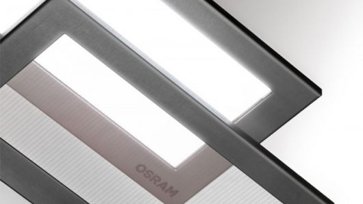OSRAM Opto Semiconductors has developed a transparent white OLED (organic light-emitting diode) tile that opens up the potential for new applications in furniture and interior design.
