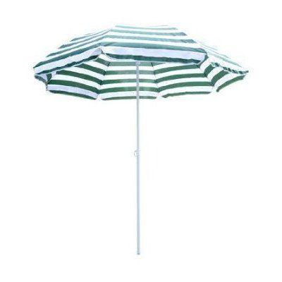 Homcom, gro�, 1,8 m, f�r Garten und Terrasse, Garten, Strand, Sonne, Sonnenschirm, neigbar, mit Kurbel, Regenschirm/Sonnenschirm mit Kurbel
