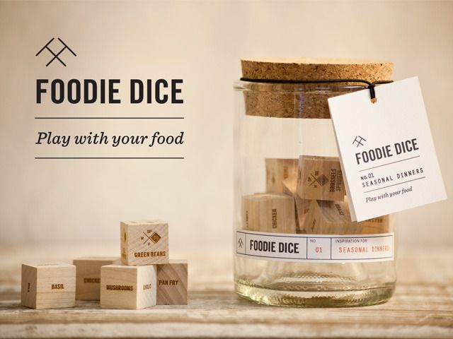 Foodie Dice: Play with your food