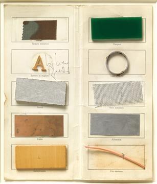 alighiero boetti- untitled (invitation) 1966-7